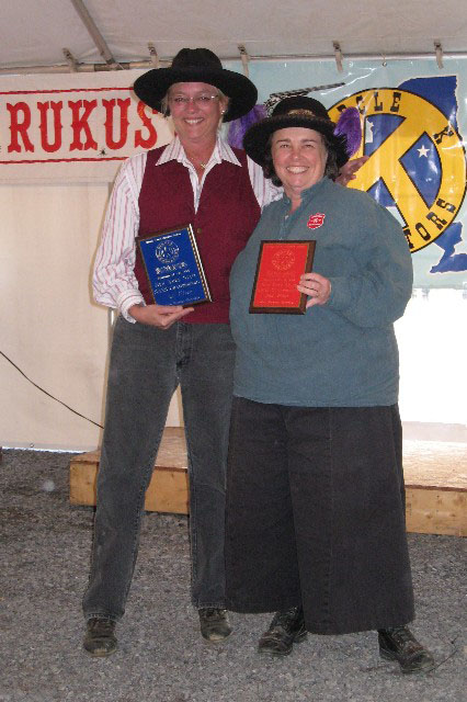 Ladies Frontier Cartridge winners.