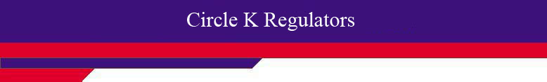 Circle K Regulators header.